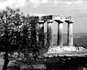 Ναός του Απόλλωνος, Αρχαία Κόρινθος