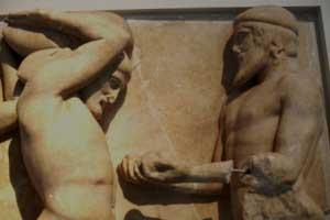 Από το Μουσείο της Ολυμπίας