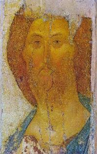 Andrei Rublev, The Saviour, c. 1410 (Tretyakov Gallery, Moscow)