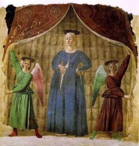 """Piero della Francesca """"Madonna del Parto"""" (c. 1460)"""