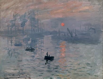 Claude Monet: Impression du soleil levant (1872)