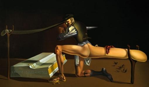 Salvador-Dali-The-Enigma-of-Wilhelm-Tell