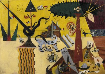 Joan Miró, The Tilled Field, (1923-1924)