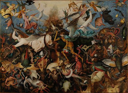 Peter Bruegel the Elder: The Fall of the Rebel Angels (1562)