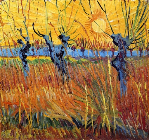 1888-10-van gogh -pollard-willows-and-setting-sun-1888