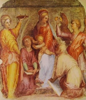 Jacopo Pontormo, Sacra Conversazione (1514), Santissima Annunziata, Firenze
