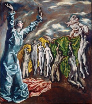 El Greco: The Opening of the Fifth Seal (1608-1614)