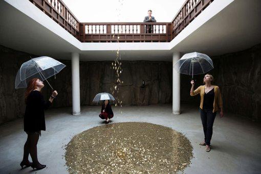 Vadim Zacharov, Δανάη, Biennale di Venezia 2013